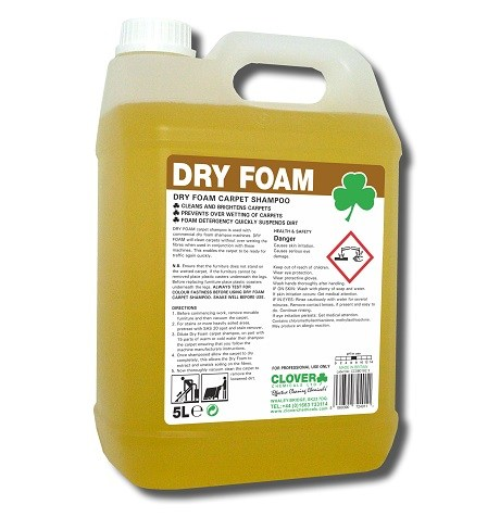 Dry Foam Carpet Shampoo (444)