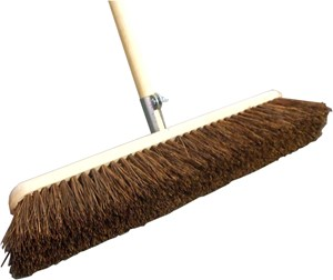 "24"" Stiff Bassine Platform Broom"