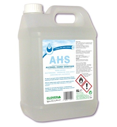 AHS - Alcohol Sanitiser 5 litre (222)