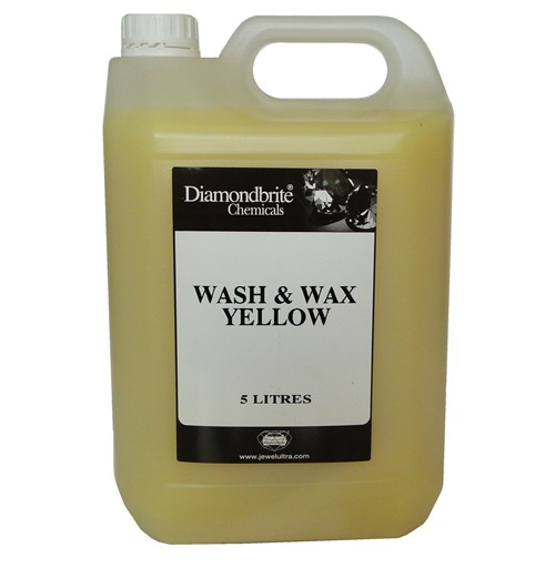 Diamondbrite Wash and Wax Yellow (JU125)