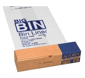 Acorn BIG Bin Liner Pack of 50