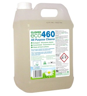 Clover Eco460 All Purpose Cleaner 5Litre (460)