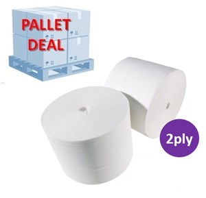 PALLET Coreless 2plyToilet Rolls (36 cases)