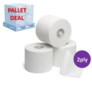 PALLET Max-Matic System Toilet Rolls (35 cases)