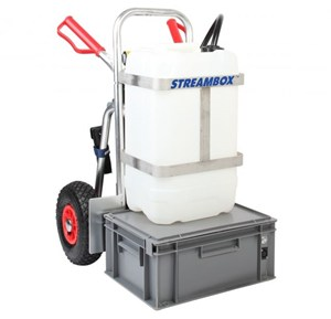 Streamline 25 litre Water Fed Pole Trolley System (without Vessel)