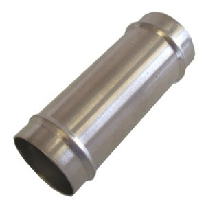 Vac hose connector 1.5 inch stainless steel tube (WP00686-4)