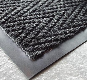 Charcoal Chevron Matting