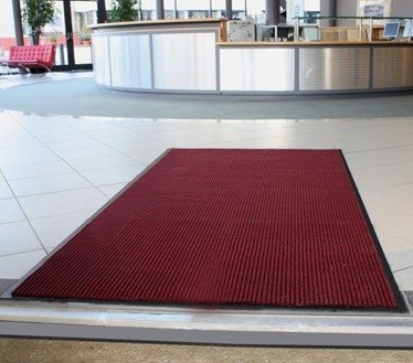 Red Brushway Matting