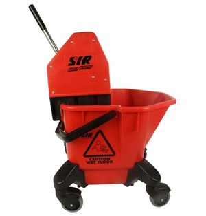 SYR TC20 Kentucky Bucket & Wringer RED 20 litre