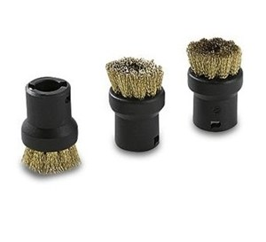 Karcher Round Brush x 3, Brass (2.863-075.0)