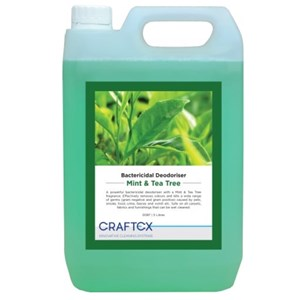 Craftex Mint and Tea Tree Bactericidal Deodoriser 5litre (0087)
