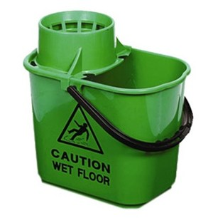 Green Professional Mop Bucket