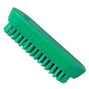 Green Nylon Nail Brush