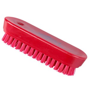 Red Nylon Nail Brush