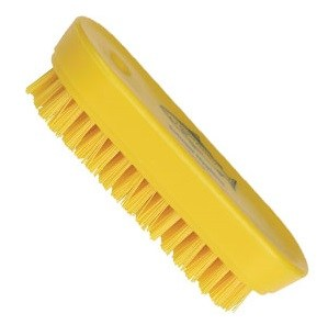 Yellow Nylon Nail Brush