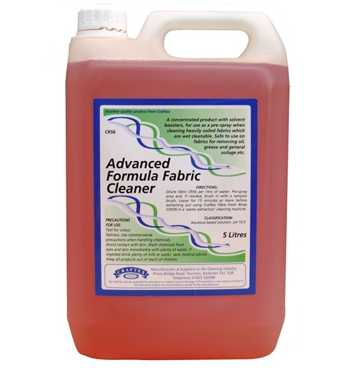 Craftex Advanced Formula Fabric Cleaner