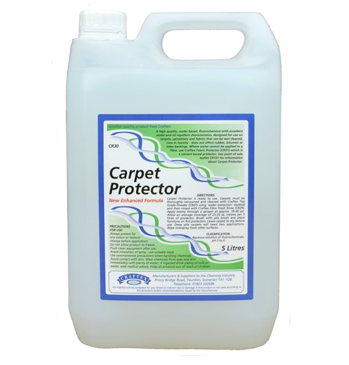 Craftex Carpet Protector Fluorochemical Click Cleaning Uk