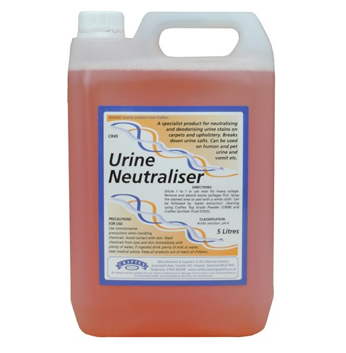 Craftex Urine Neutraliser Click Cleaning Uk