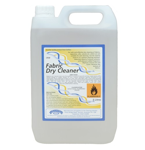 Craftex Fabric Dry Cleaner 5litre (0038)