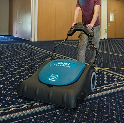 Truvox Valet Wide Area Vacuum Cleaner Click Cleaning Uk