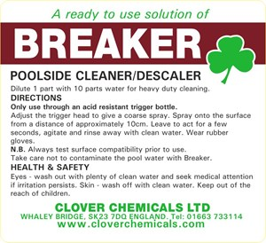 Breaker Trigger Spray Label (RTU)