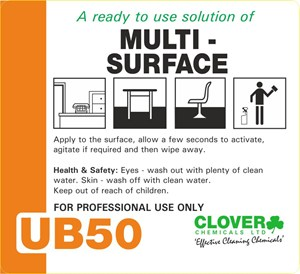 Ultradose UB50 Label (RTU)