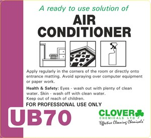 Ultradose UB70 Trigger Spray Label (RTU)