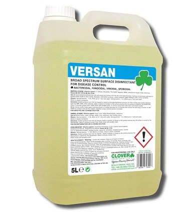 Versan Viricidal Surface Disinfectant 5litre