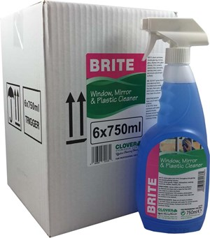 Brite - Glass and Plastic Cleaner 6x750ml (701)
