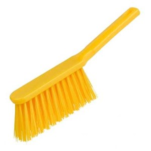 Stiff Hand Brush Yellow