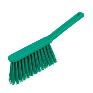 Stiff Hand Brush Green