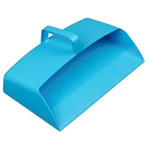 Large Plastic Dustpan Blue