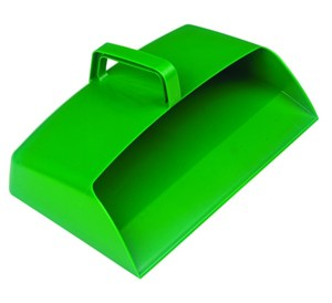 Large Plastic Dustpan Green