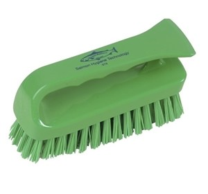 Grippy Hygiene Scrub Brush Green