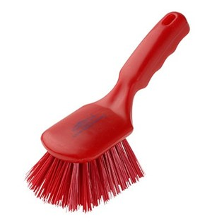 Stiff Short Brush Red