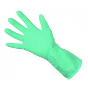 Household Rubber Gloves Green (pair)