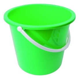 Plastic Bucket 10litre Green