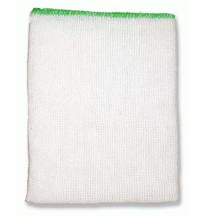 Stockinette Dishcloths (Pack of 10) - Green