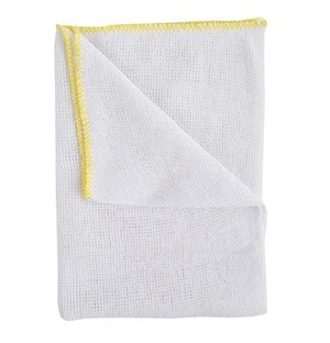 Stockinette Dishcloths - Yellow