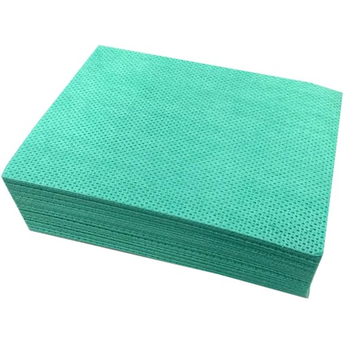 Abbey Velette Cloths - Green