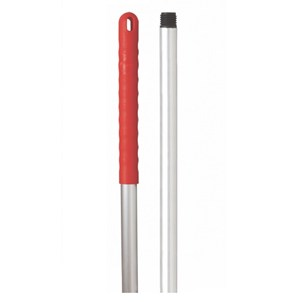 Aluminium Handle 125cm Red