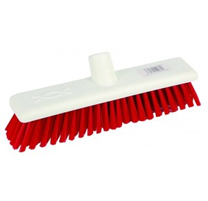 "Abbey 12"" Soft Broom Head - Red"