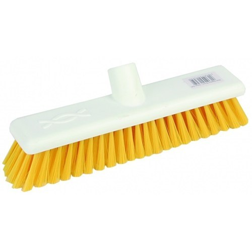"Abbey 12"" Soft Broom Head - Yellow"