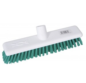 "Abbey 9"" Deck Scrub Head - Green"