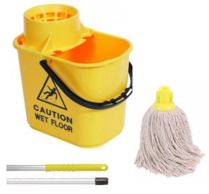 Yellow Professional Bucket and PY Mop