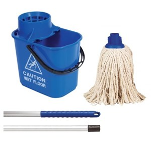 Blue Professional Bucket and PY Mop