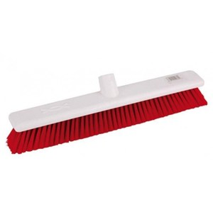 "Abbey 18"" Soft Broom Head - Red"