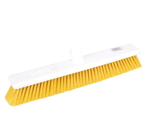 "Abbey 18"" Soft Broom Head - Yellow"