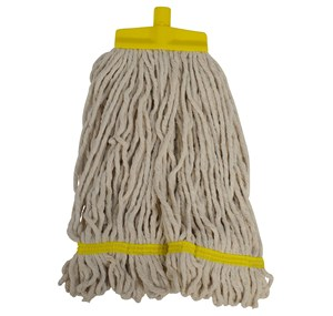 Interchange Stayflat Looped 16oz Mop Head - Yellow (990040)