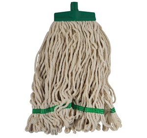Interchange Stayflat Looped 16oz Mop Head - Green (990042)
